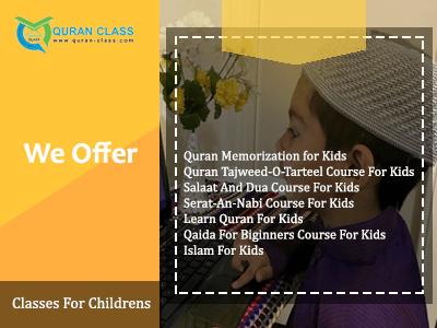 Quran for kids, Quran class online